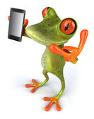 Frog illustration — Stock fotografie