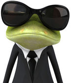 Business Frog — Stockfoto