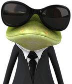 业务青蛙 — 图库照片