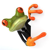 Business Frog — Stock Photo