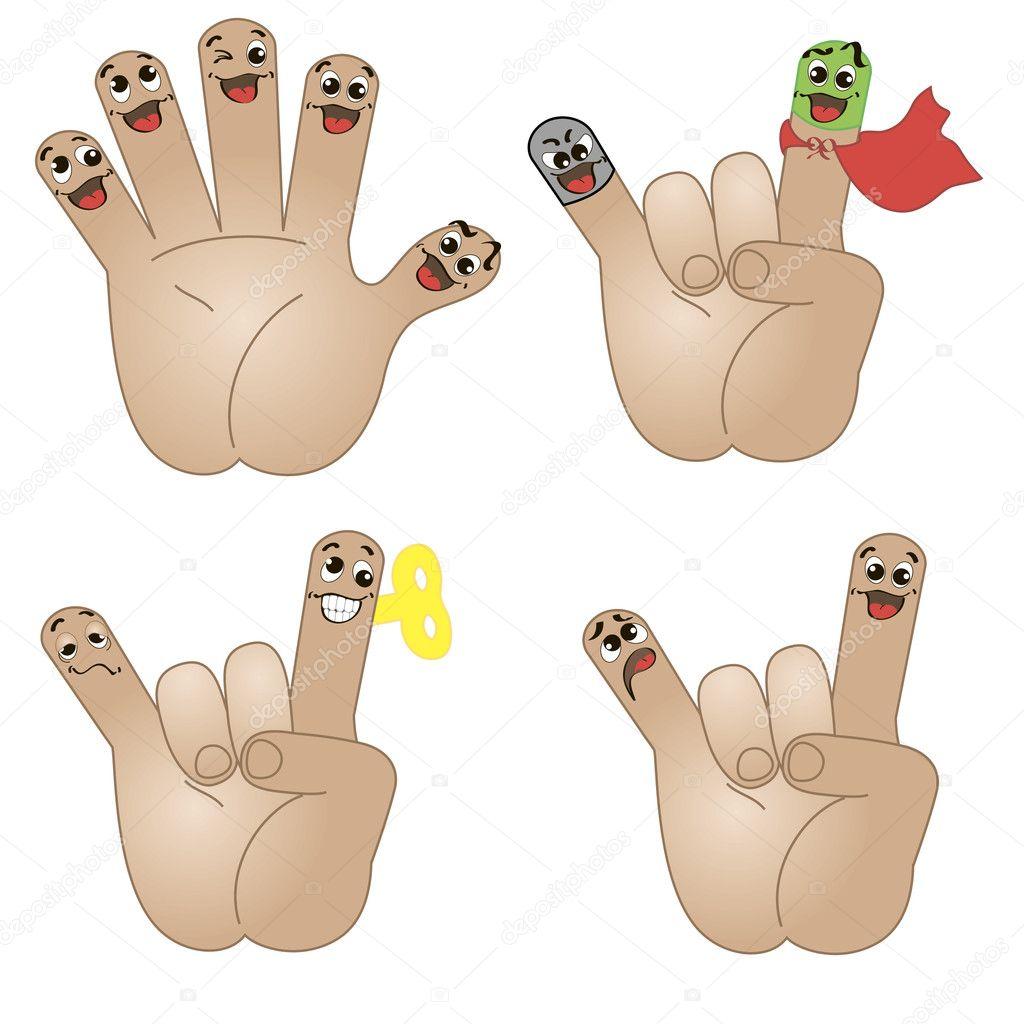 finger amigos