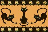 Padrão de halloween — Vetorial Stock