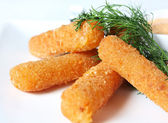 Cheese fries — Stock Photo