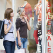 Women shopping — Stockfoto