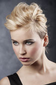 Hair style portrait — Stock Photo