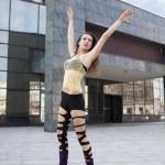 Modern ballet woman — Stock Photo