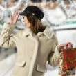 Shopping on christmas — Stock Photo