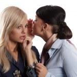 Whisper women secret — Stock Photo