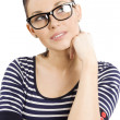 Girl with glasses — Stock Photo #6533558