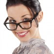 The woman with glasses — Stock Photo #6533754