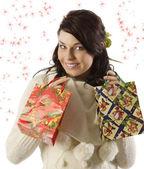As compras de natal — Foto Stock