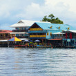 Bocas del Toro town — Stock Photo
