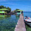 Crawl cay in Bocas del Toro — Stock Photo