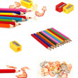 Collection of pencils — Stock Photo #5485643