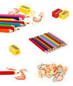 Collection of pencils — Stock Photo