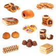 Royalty-Free Stock Photo: Biscuits collage
