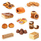 Biscuits collage — Stock Photo