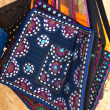 Stock Photo: Ethnic bag made of cloth
