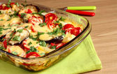 Vegetable casserole — Stock Photo