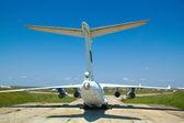 Uçak park alanı — Stok fotoğraf