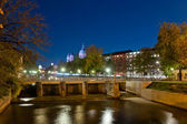Munich night view — Stock Photo