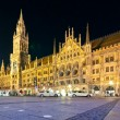 Munich City hall — Stock Photo #5487254
