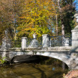 Bridge in the park — Stock Photo