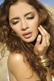 Donna bella sensualità adulta — Foto Stock