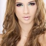 Portrait beautiful brunette — Stock Photo #6248726