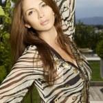 Portrait of beautiful brunette — Stock Photo #6425810