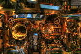 Torpedo Bay of an old Submarine — Stock Photo