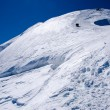Stock Photo: Climbers on glacier