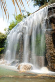 Waterfall in Nice — Stock Photo