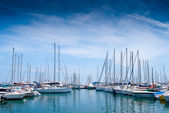Yacht port in Cannes — Stock Photo