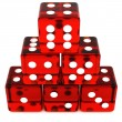 Red Dice — Stockfoto
