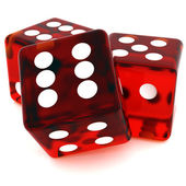 Red Dice — Stock Photo