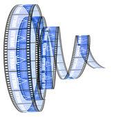 Download film Segment rolled forward — Stock Photo