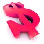3d US Dollar symbol — Stock Photo