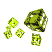 Casino dice — Stock Photo