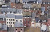 Dächer entlang der französischen Küste — Stockfoto