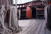 Reconstruction of the VOC ship The Batavia — Stock Photo