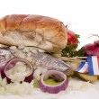 SOUSED HERRING — Stock Photo