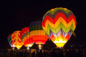 Hot air balloons — Stockfoto