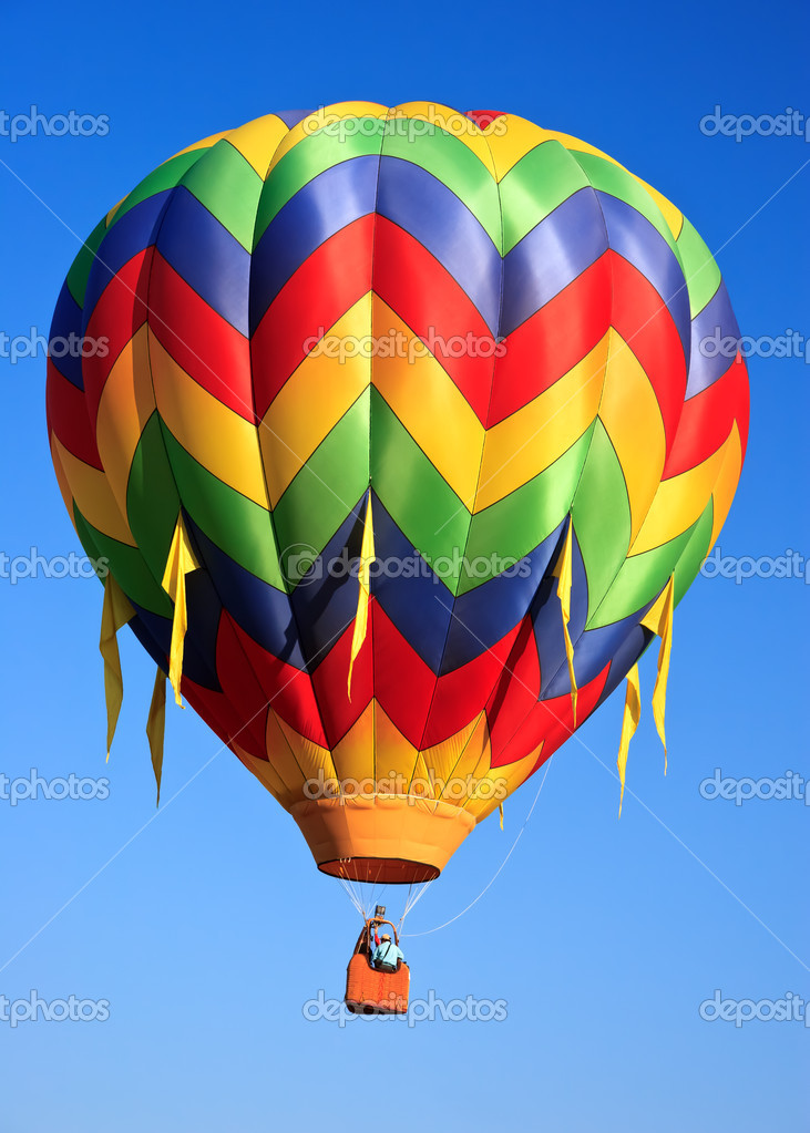 Hot air balloon  — Stock Photo #5382944