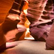 Stock Photo: Antelope canyon