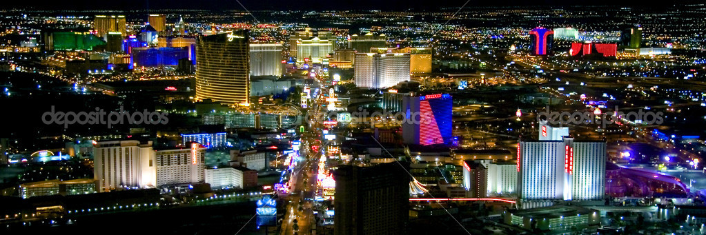 Las vegas city view — Stock Photo #5421390