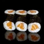 Sushi rolls — Stock Photo #5434228