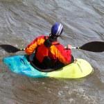 Kayaker — Stock Photo #5601453