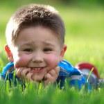 Happy little boy — Stock Photo #5612092