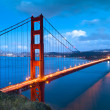 Golden gate — Foto Stock